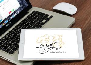 babski swiat logo mockup