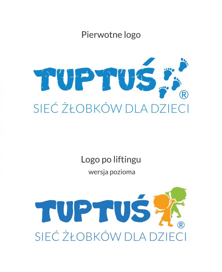 tuptus porownanie logo