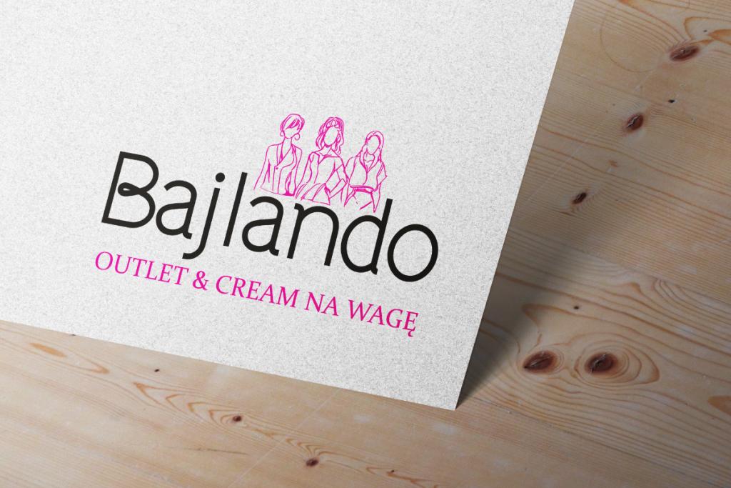 bajlando logo mockup